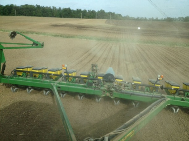 last corn acres planted 2013